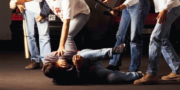 30-Jähriger brutal zusammengetreten