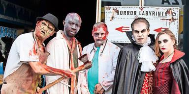 Halloween: Verhüllungen werden toleriert