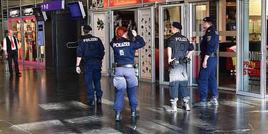 Praterstern Polizei