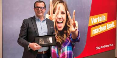 MediaMarkt mit Qualitäts-Award ausgezeichnet