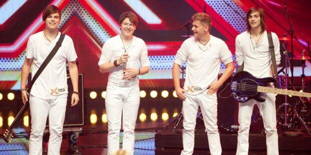 Premiere für X- Factor Show