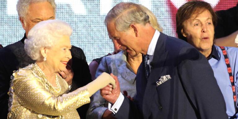 Prinz Charles ist jetzt Marshall und Admiral