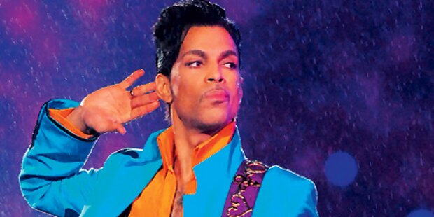 Prince auf Mini-Tour in Europa