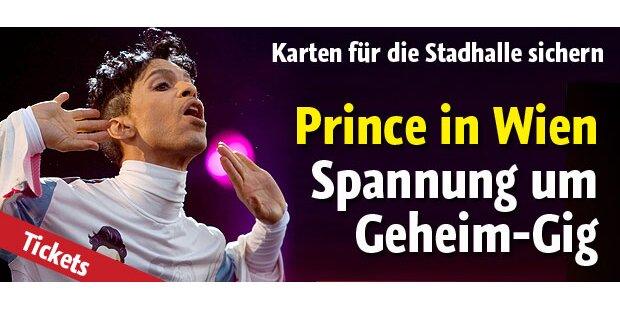 Prince heute in der Stadthalle