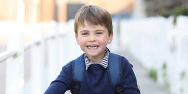 3. Geburtstag: So groß ist Prinz Louis schon