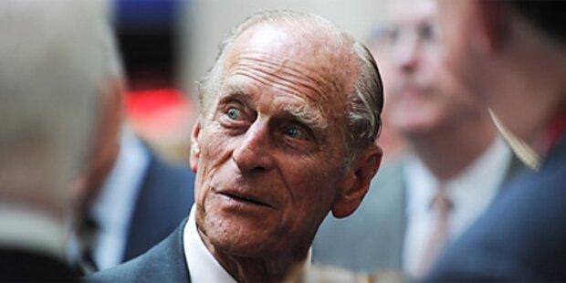 Prinz Philip will künftig kürzertreten