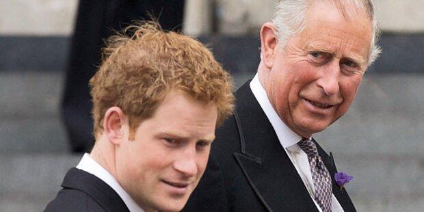 Prinz Charles blecht für Harrys Blamage