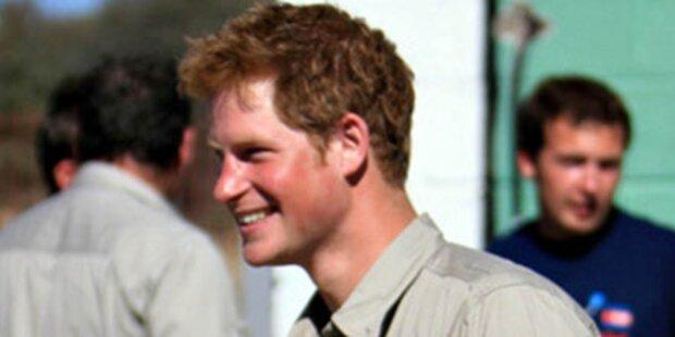 Prinz Harry beginnt Afrika-Reise