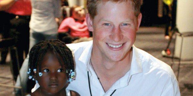 Prinz Harry beweist Herz für Kinder