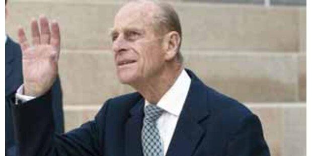 Britischer Prinz Philip leidet an Prostata-Krebs