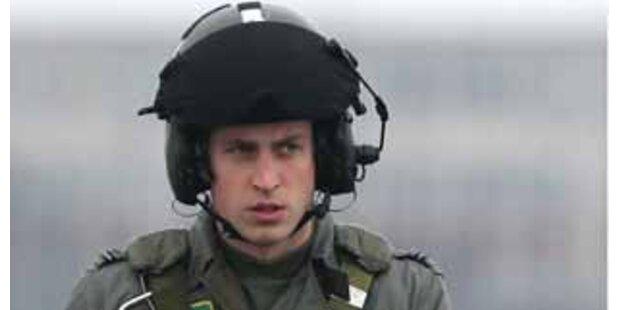 William wird lieber Rettungsflieger als Ehemann