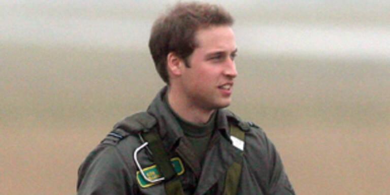 Prinz William beginnt Dienst bei Rettungsfliegern