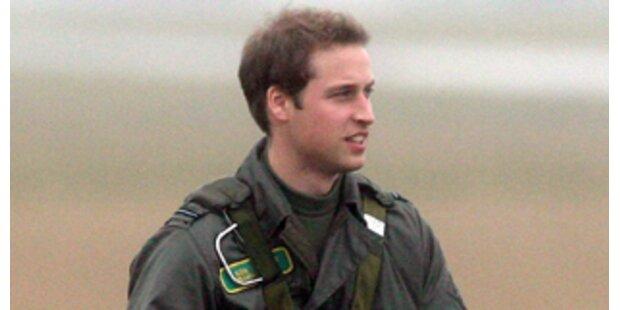 Proteste gegen Falkland-Einsatz von Prinz William