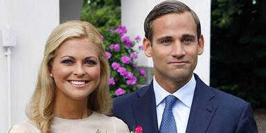 Prinzessin Madeleine und ihr Verlobter Jonas Bergström