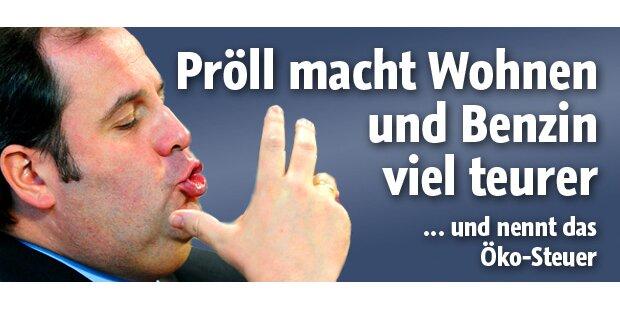 Pröll und seine neue Öko-Steuer