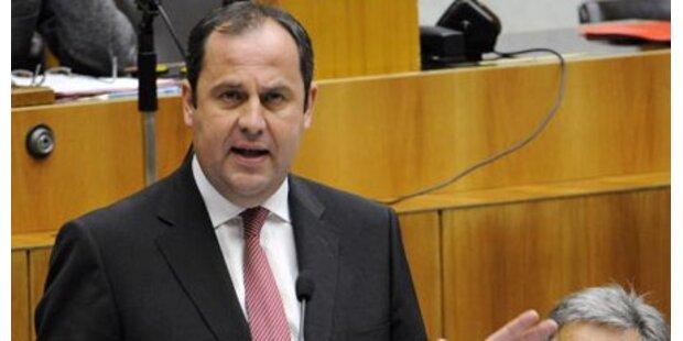 Prölls Budget ist Kampfansage an Krise