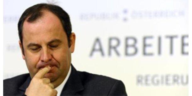 Erstmals in 2. Republik weniger Geld für Minister