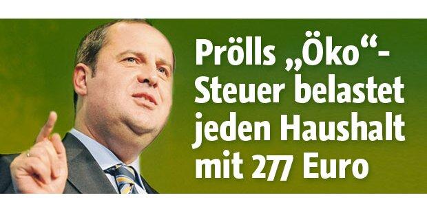 Streit um Prölls Öko-Steuer