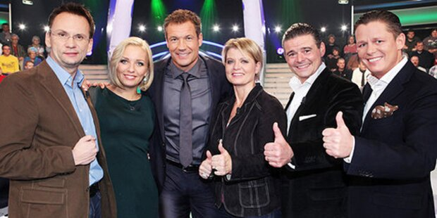 Lidia Baich verzauberte Promi-Millionenshow