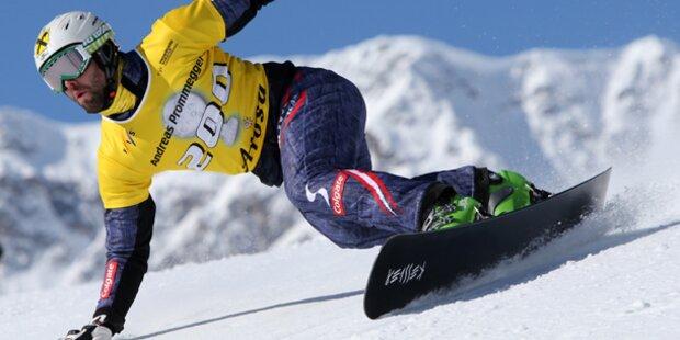 Snowboardsport in Not
