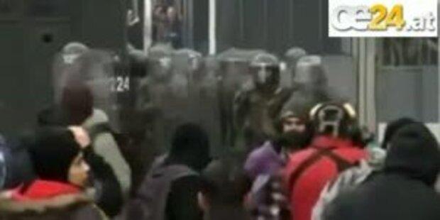 Chilenische Studenten demonstrieren wieder