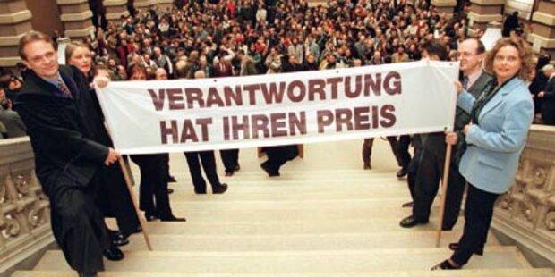 Richterstreik für mehr Personal