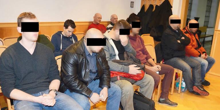 Brutalo-Türsteher verprügelten Discogäste