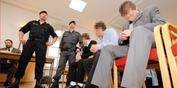 Rammbock-Bande zitterte vor Gericht