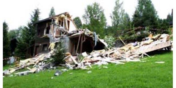 Pfusch-Vorwurf nach Explosion in steir. Ferienhaus