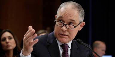 Klimaskeptiker Pruitt wird Chef der US-Umweltbehörde