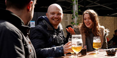 In britischen Pubs wird das Bier knapp