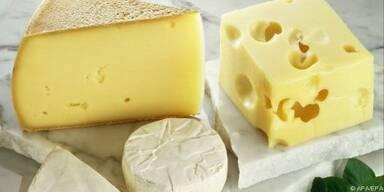 Puristen genießen Käse nur mit Brot und Butter