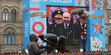"""Russland feiert """"Tag des Sieges"""" mit Militärparade"""