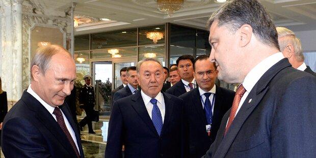 Putin: Ukraine- Frieden ab Freitag