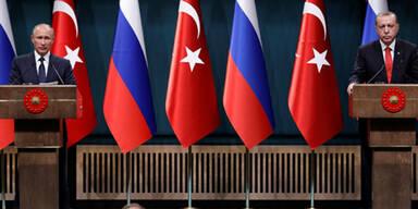 Putin Erdogan Ankara