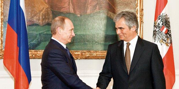 Putin-Besuch: Platzverbot und Sperren in der City