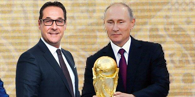 Polit-Show bei WM-Start