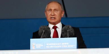 Putin WM Eröffnung