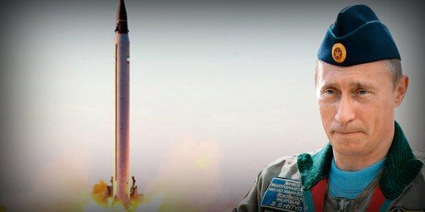 Putin übt einen Atomangriff