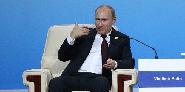 Putin kämpft gegen westliche Propaganda