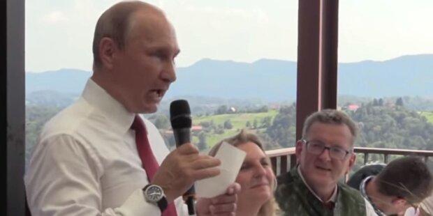 Hier geht Kneissl vor Putin auf die Knie
