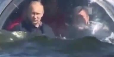Putin unternimmt Tauchgang mit U-Boot