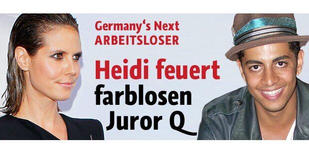 Q muss gehen: Heidi feuert Juror