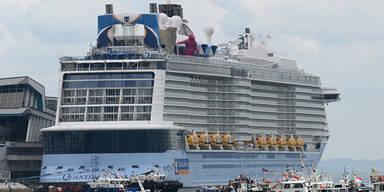Falscher Alarm: Doch kein Corona-Fall bei Kreuzfahrt vor Singapur