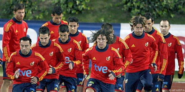 Spanien bestreitet zwei WM-Testspiele in Innsbruck