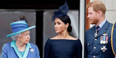 Angriffe von Prinz Harry: Queen ist 'zutiefst verärgert'