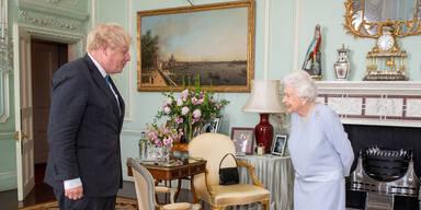 Johnson wollte Queen trotz Corona persönlich besuchen