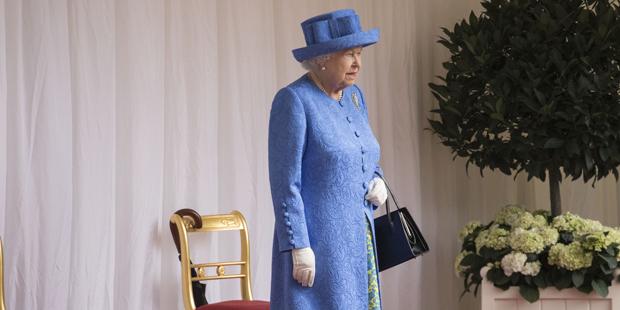 Queen wartet auf Trump
