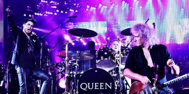 Queen wollen es wieder wissen