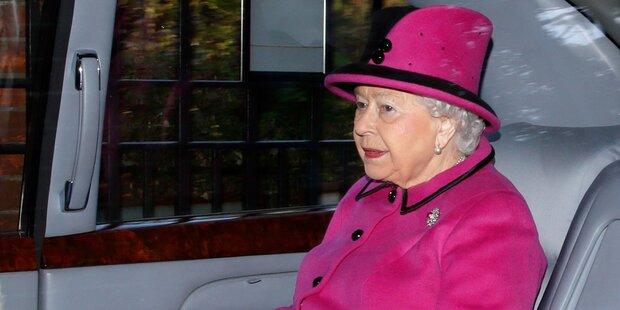 Sorge um Queen: Termin aus gesundheitlichen Gründen abgesagt